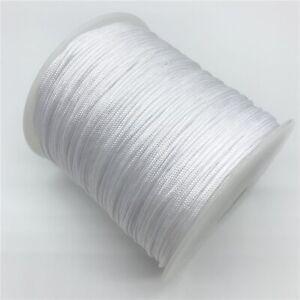 0.5mm 0.8mm 1.0mm 1.5mm Nylon Cord Rope Beading Macrame String Thread Bracelet