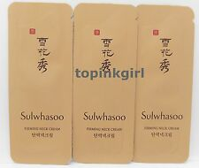 30pcs x  Sulwhasoo Firming Neck Cream, Anti Wrinkle Firming Energy Amore New