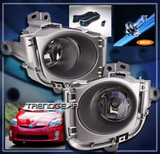 2010-2011 TOYOTA PRIUS BUMPER DRIVING JDM CHROME FOG LIGHT LAMP W/HARNESS+SWITCH