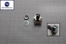 Potenziometro a carbone assiale monogiro logaritmico 10Kohm Uscite a maglia