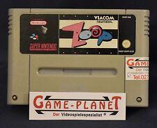 Zoop PAL Super Nintendo SNES Module examiné collecte à Francfort AVANT Ort