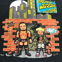 WWE Enzo & Big Cass Mens Short Sleeve T Shirt Medium M Black Wrestling Crewneck