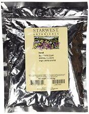 New listing Starwest Botanicals Sodium Bentonite Clay (Food-Grade), 1 Pound Free Shipping