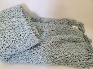 Domain Soft Throw Light Blue Blanket