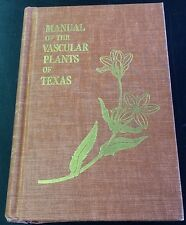 Manual of the Vascular Plants of Texas, Correll and Johnston, hc 1970