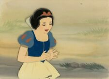 Walt Disney Original 1937 Snow White And The Seven Dwarfs Production Cel Rare
