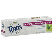 Tom's Of Maine Menthe Verte sans Fluor Antiplaque & Dentifrice Blanchissant