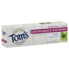 Tom's Of Maine Menthe Verte sans Fluor Antiplaque & Dentifrice Blanchissant