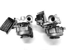 Right+Left Turbocharger Mercedes E400 G400 ML400 S400 CDI 724495 724496