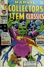 1968 Marvel Collectors Item Classic No. 18 Comic Book A6