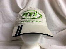 trucker hat baseball cap BTI WIND ENERGY retro rare rave vintage cool nice