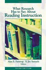 Was Forschung hat zu sagen Lesung Weisung Alan E. Farstrup, S. Jay S
