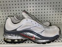 Nike Reax Run 5 Womens Athletic Running Shoes Size 6.5 White Gray Pink