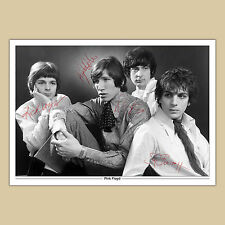 PINK FLOYD (37) Signed Reproduction Autograph Photo Print A4 210 x 297mm