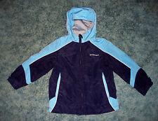 Boys Youth Zero Xposur Navy & Light Blue Spring Jacket Size Large 7