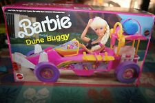 VINTAGE BARBIE DOLL DUNE BUGGY  CONVERTIBLE WITH ORIGINAL BOX & INSTRUCTIONS