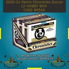 New listing Arthur - 2020-21 Panini Chronicles Soccer 12 Hobby BOX BREAK #9
