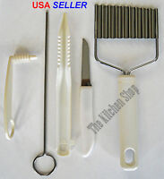 Garnishing Tools 5 Piece Set - Kitchen Tools Gadget (Free Shipping)