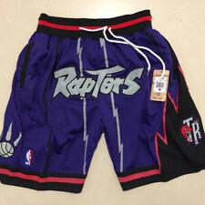 Toronto Raptors Basketball Shorts Men's Pants NWT stitching