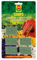 Compo concime in bastoncini x tutti i tipi di piante 30 pz nutrimento completo