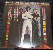 FRANKIE CROCKER'S HEART & SOUL ORCHESTRA Disco Suite Symphony No 1 2LP USA
