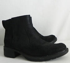 Timberland Ankle Boots Pull On Black Leather Size 7M