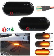 2x LED Seitenblinker für Amarok Polo 6n 9n Sharan Up schwarz