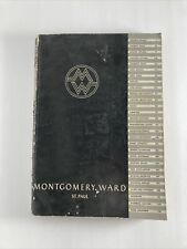 1935 MONTGOMERY WARD SPRING & SUMMER-BICYCLES, FISHING, CHEVROLET PARTS, TOYS