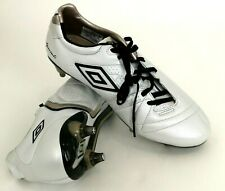 Umbro Speciali 3 Pro HG Soccer Football Cleat Boots Size 10 White 80509U-CTS