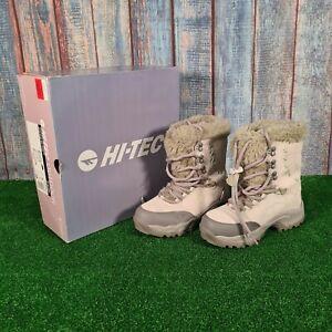 Hi-Tec St Moritz 200 Hiking Walking Waterproof Thinsulate Snow Boots Size UK 5