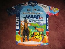 5eb7425c9 Mapei Day 2007 Santini Italian cycling jersey Sz  44 46-M