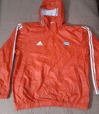 Vintage Adidas Cuba Track Olympics Windbreaker 1/4 Zip Jacket Red Hoodie Large