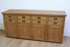 SOLID OLD RECLAIMED WOOD SHAKER STYLE SIDEBOARD HANDWAXED MADE TO ORDER ANY SIZE