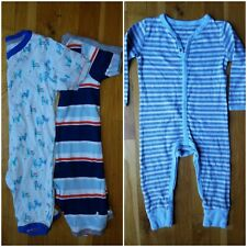 Burts bees baby romper pajamas boys 18 24 months sold out organic cotton