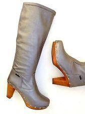 NEU**SANITA * DANISK CLOGS ,-schicke Stiefel / Leder  ,Gr. 35 **NEU     #EG1711