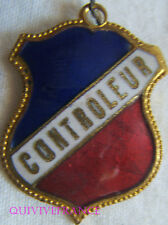 BG6984 - INSIGNE BADGE TRICOLORE - CONTROLEUR