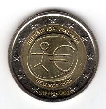 2 EURO COMMEMORATIVO ITALIA 2009 EMU 10° Anniversario