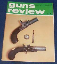 GUNS REVIEW MAGAZINE NOVEMBER 1977 - GERMAN HANDGUNS OF THE FIRST WORLD WAR