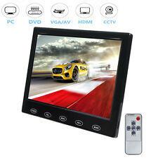 "Ultrathin 7"" HD LED Touch Button Display Monitor AV/VGA/HDMI Input F Car DVD POS"