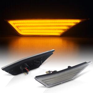 LED Clignotants Latéraux Verre Clair Pour Honda Civic X Type R Ab Bj 2015