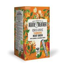💚 Heath & Heather Bio curcuma racine Brew Botanique Infusion 20 bags