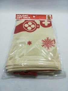 GameStop Christmas Holiday Gift Sack Canvas Bag by ThinkGeek [Brand New]