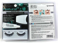 ARDELL Natural Starter Kit with Adhesive and Applicator - 101 Demi Black #240455