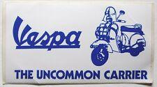 Vespa scooter original 80's vinyl bumper sticker mod flyscreen NOS promo item