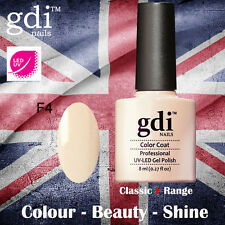 UK SELLER Gdi Nails CLASSIC Range F04 UV/LED Gel Soak Off nail polish