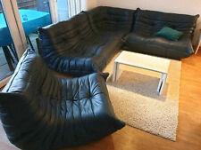 Ligne Roset TOGO Neuwertiger Top Zustand - Leder-Sofa Leder-Couch dunkel-blau