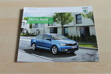 129611) Skoda Rapid - Preise & Extras - Prospekt 09/2013