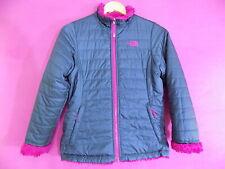 Girls North Face Reversible Coat / Jacket Size Large Age 14/16