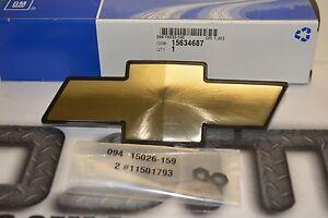 1998-2005 Chevrolet S-10 & Blazer Gold Bow Tie Front Grille Emblem OEM new