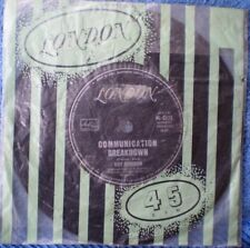 "ROY ORBISON-COMMUNICATION BREAKDOWN/GOING BACK TO GLORIA ""RARE OZ"" 45 RPM"